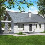 проект дома из кирпича SDn-535 6