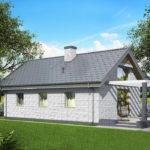 проект дома из кирпича SDn-535 7