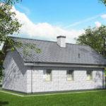 проект дома из кирпича SDn-535 8