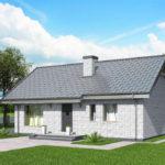 проект дома из кирпича SDn-535 9