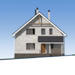 проект дома из кирпича SDn-552 2