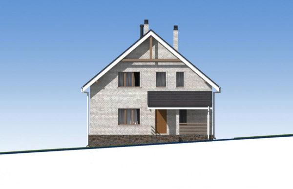 проект дома из кирпича SDn 552 2