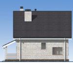 проект дома из кирпича SDn-552 3