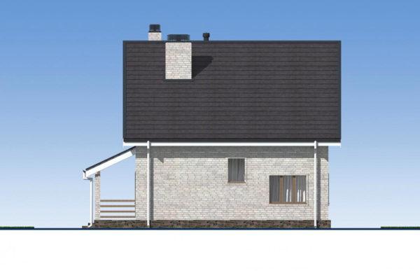 проект дома из кирпича SDn 552 3