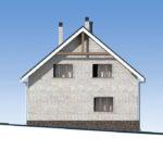 проект дома из кирпича SDn-552 4