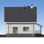 проект дома из кирпича SDn-552 5