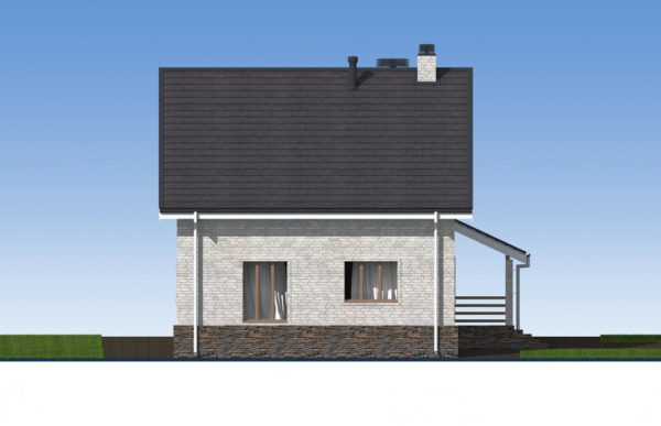 проект дома из кирпича SDn 552 5