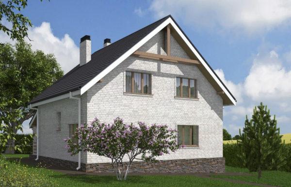 проект дома из кирпича SDn 552 9