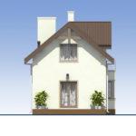 проект дома из кирпича SDn-554 4