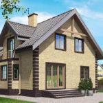 проект дома из кирпича SDn-563 10