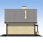 проект дома из кирпича SDn-563 3