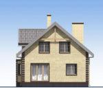 проект дома из кирпича SDn-563 4