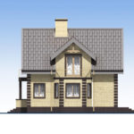 проект дома из кирпича SDn-563 5