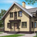 проект дома из кирпича SDn-563 7