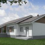 проект дома из кирпича SDn-574 10