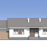 проект дома из кирпича SDn-574 3