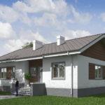 проект дома из кирпича SDn-574 7