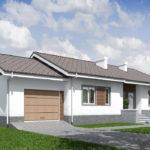 проект дома из кирпича SDn-574 8
