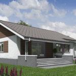 проект дома из кирпича SDn-574 9
