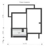 проект дома из кирпича SDn-578 1