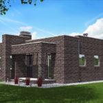 проект дома из кирпича SDn-578 10