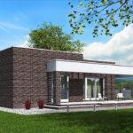 проект дома из кирпича SDn-578 8