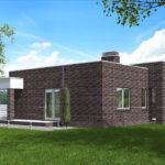проект дома из кирпича SDn-578 9