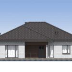 проект дома из кирпича SDn-581 2