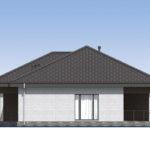 проект дома из кирпича SDn-581 3