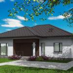 проект дома из кирпича SDn-581 6