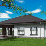 проект дома из кирпича SDn-581 8