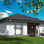 проект дома из кирпича SDn-581 9