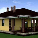 проект дома из кирпича SDn-901 2