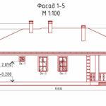 проект дома из кирпича SDn-901 3
