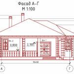 проект дома из кирпича SDn-901 5