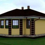 проект дома из кирпича SDn-901 6