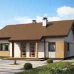 проект дома из кирпича SDn-912 1