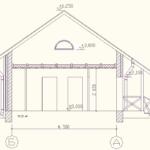проект дома из кирпича SDn-912 2