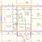 проект дома из кирпича SDn-912 3