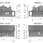 проект дома из кирпича SDn-914 4