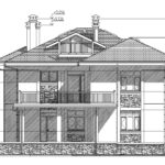 проект дома из кирпича SDn-927 7