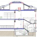 проект дома из кирпича SDn-927 8