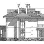 проект дома из кирпича SDn-927 9