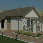 проект дома из кирпича SDn-939 2