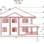 проект дома из кирпича SDn-993 1