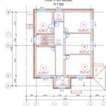 проект дома из кирпича SDn-993 6