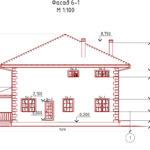 проект дома из кирпича SDn-993 7
