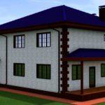 проект дома из кирпича SDn-993 8