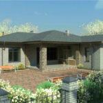 проект дома из пеноблока-газобетона SDn-323 1
