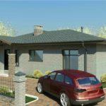 проект дома из пеноблока-газобетона SDn-323 4